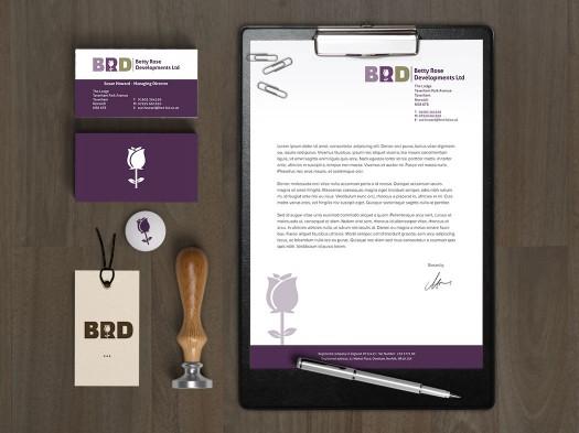 Betty Rose Corporate ID - PX2 Portfolio