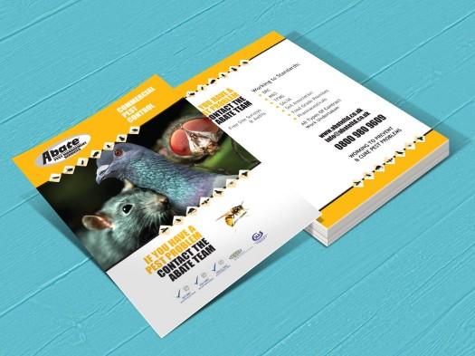 Abate Pest Control leaflets - PX2 Portfolio