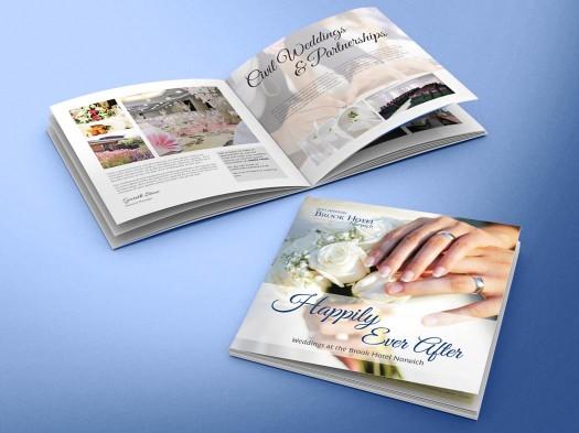 Brook Hotel Wedding Brochure - PX2 Portfolio