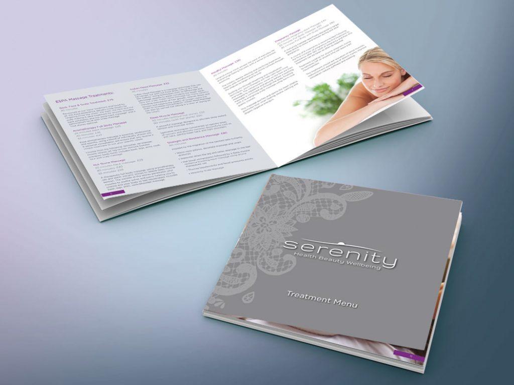 Serenity Spa Brochure