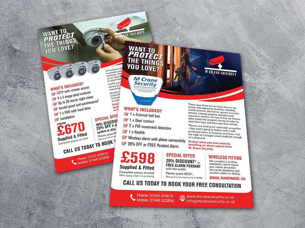 A5 leaflet design PX2