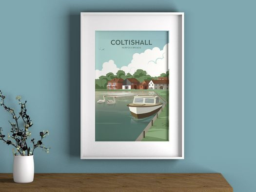 Coltishall illustration