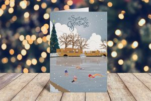 Horstead awimmers Christmas Cards