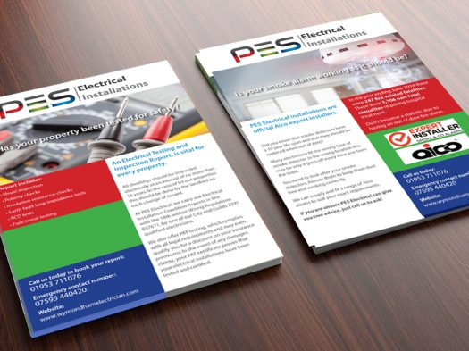 PES A5 leaflet