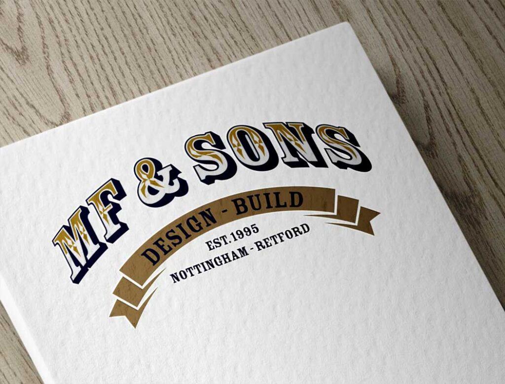 MF & Sons Logo design